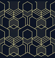 abstract geometric shapes seamless cubes pattern vector image vector image