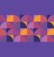decorative colorful geometric seamless pattern vector image vector image