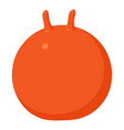 fitball icon cartoon style vector image vector image