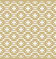 golden seamless pattern geometric background vector image vector image