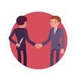 hidden intentions at negotiations vector image
