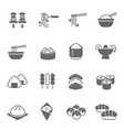 Icon set - Food vector image vector image