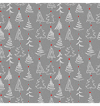 New year seamless vector image vector image