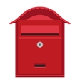 Post mail box isolated vector image vector image