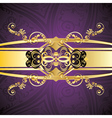 Purple Decorative Background4 vector image vector image