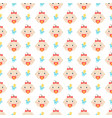 seamless pattern with bagirl vector image