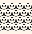 geometric seamless pattern edgy triangular mesh vector image vector image