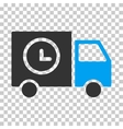 Shipment Schedule Van Eps Icon vector image