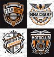Athletic emblem graphics