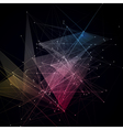 Abstract Connections Background vector image vector image