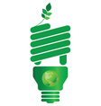 Eco light bulb vector | Price: 1 Credit (USD $1)