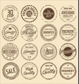 premium quality retro grunge stamp collection vector image vector image