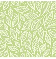 The pattern of leaves vector image vector image