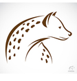 image of an hyena vector image