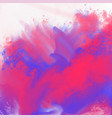 abstract watercolor splatter background texture vector image vector image