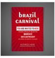 carnival festive posters set bright confetti vector image