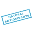 Natural Antioxidants Rubber Stamp vector image vector image