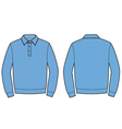 Polo jumper vector image