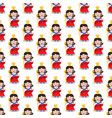queen seamless pattern vector image vector image