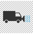 Street Washing Car Eps Icon vector image vector image