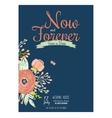 Wedding romantic floral save date invitations