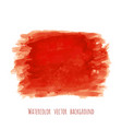 bloody red watercolor texture background vector image vector image