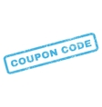Coupon Code Rubber Stamp vector image vector image