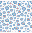 daisies field flower all over print vector image vector image
