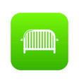 fence speech icon simple black style vector image vector image
