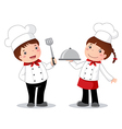 Profession costume of chef for kids vector image vector image