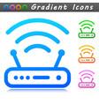router symbol icon design vector image