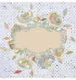 Stylish floral background EPS 8 vector image vector image