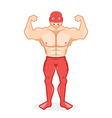 wrestler vector image vector image