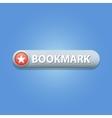 Bookmark Button vector image
