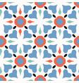 folk art heart quilt all over print vector image vector image
