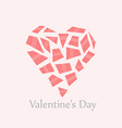 Heart Valentines Day vector image