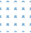no bleaching icon pattern seamless white vector image vector image