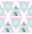 Pelican bird sign logo vector image vector image