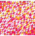 tile pattern with triangle mosaic background vector image vector image