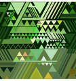 Triangle geometric abstract background vector image vector image