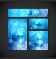 set of design elements for design vector image