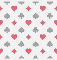 colorful casino seamless pattern vector image