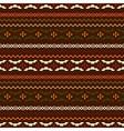 Dark ethnic pattern vector image