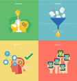 Element of creative idea and systematic thinking vector image