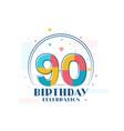 90 birthday celebration modern 90th birthday