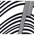 abstract black and white composition vector image vector image