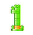 Alphabet blocks figures constructor