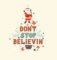 beautiful christmas poster or banner with vector image vector image