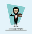 business character design vector image vector image