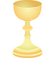chalice vector image